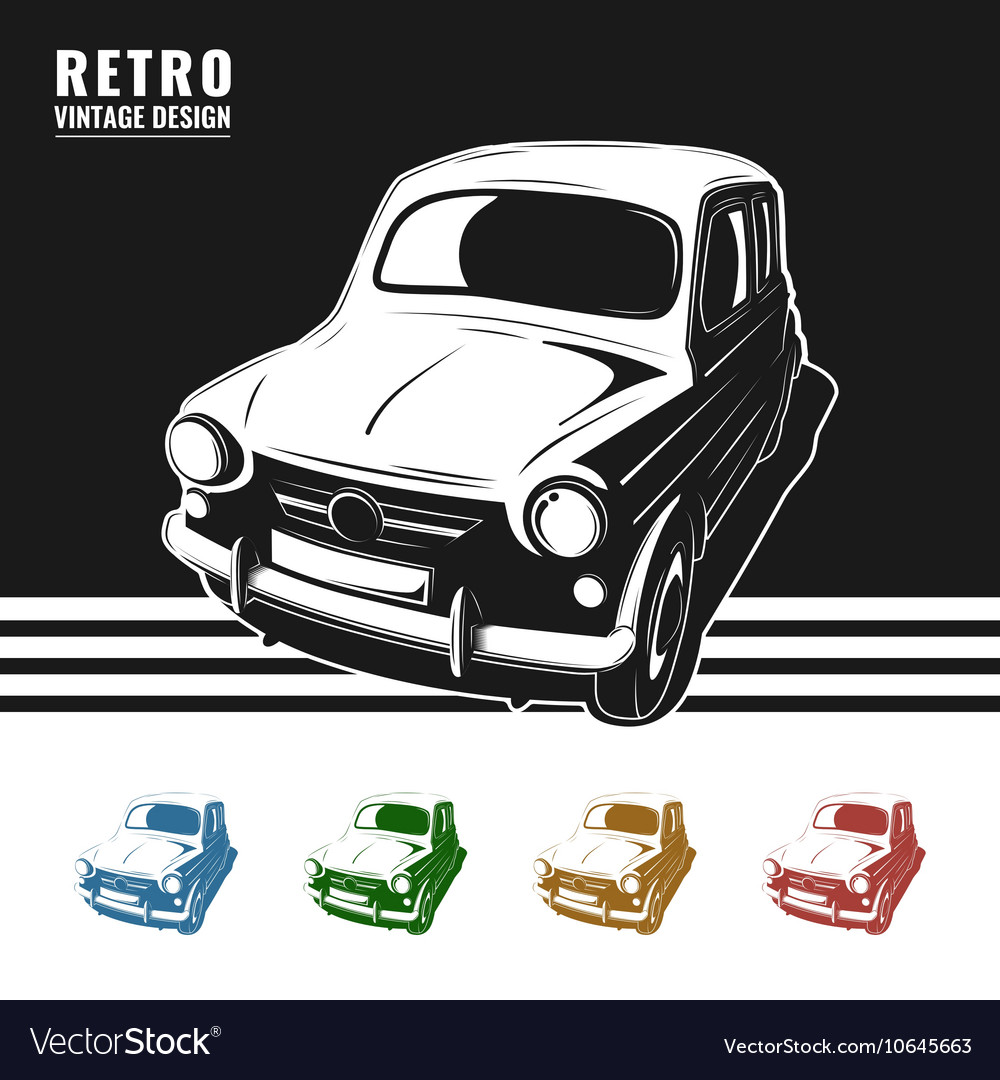 Vintage poster auto repair