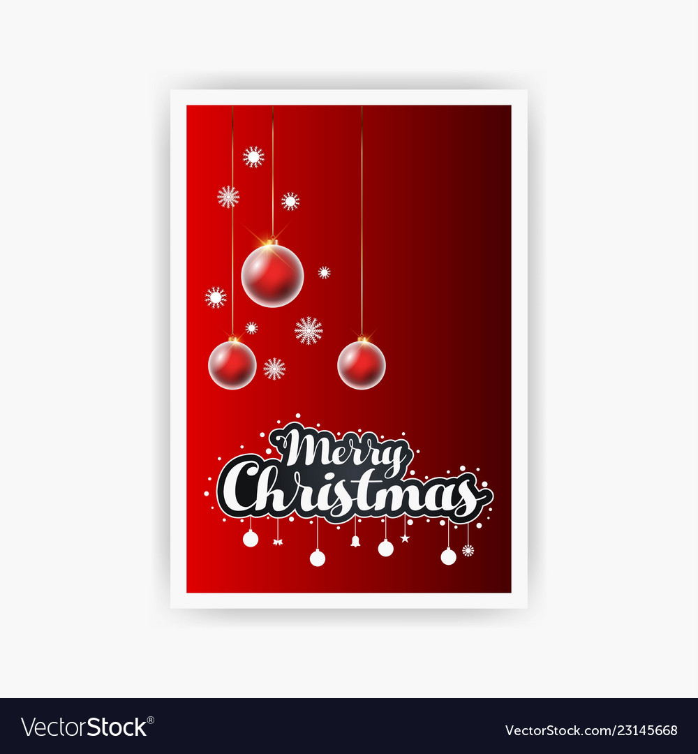 Merry christmas decorative vintage background