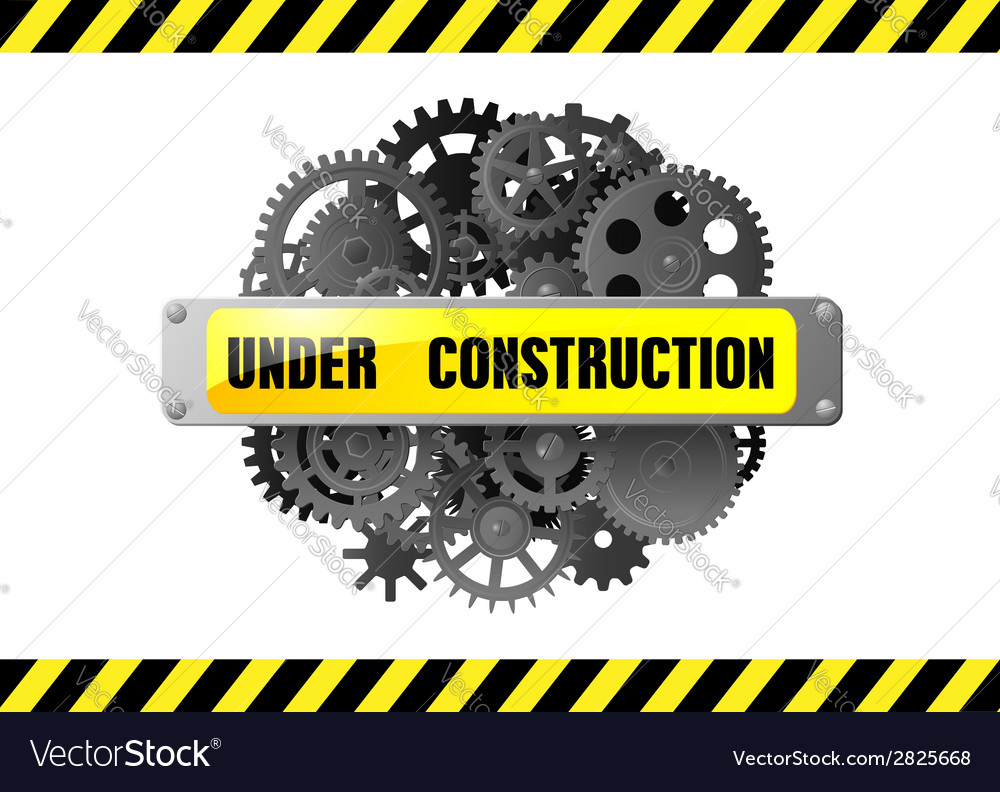 Under construction web page warning