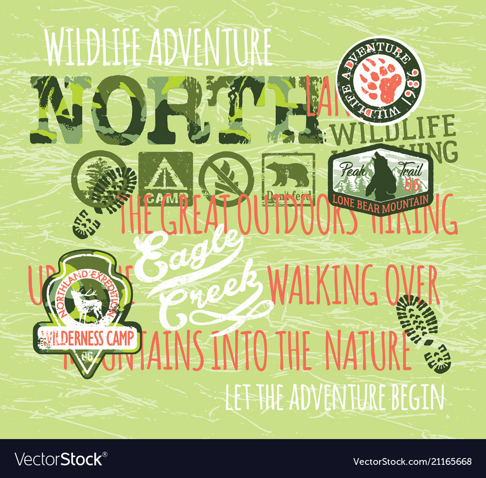 Wildlife adventure outdoor hiking expedition