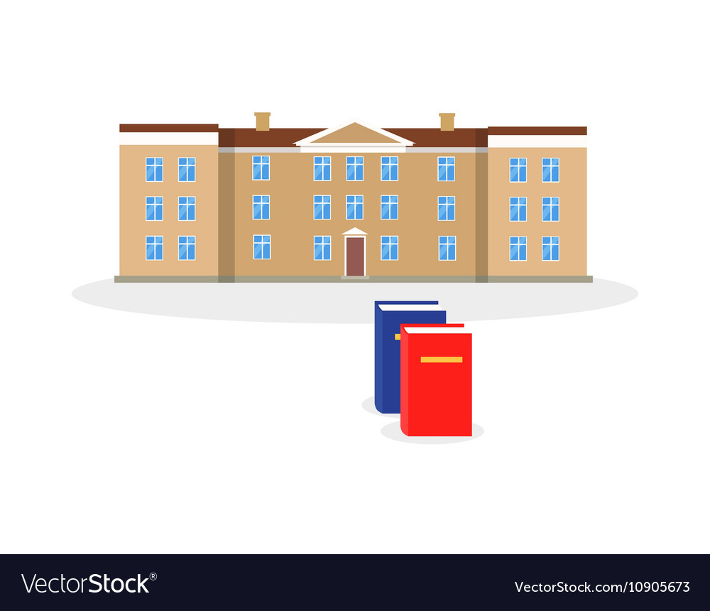 College Building and Book Design Flat