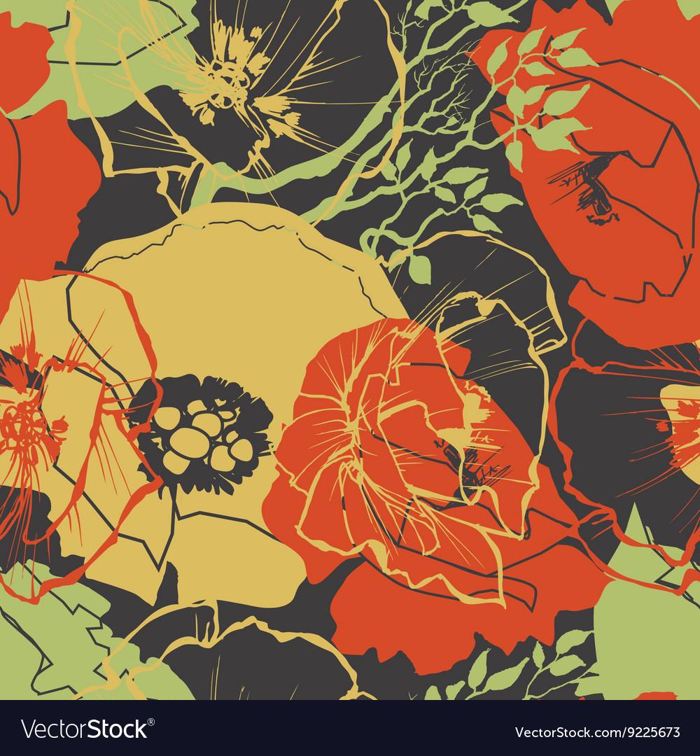Flower pattern floral print