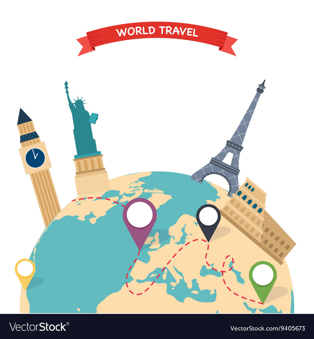 Travel to World Trip to World Road trip Tourism