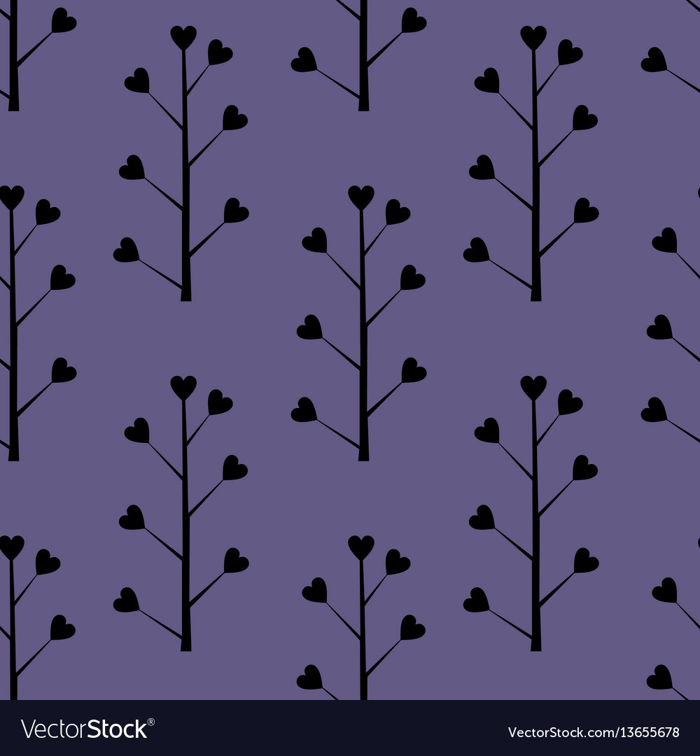 Decorative seamless background with floral