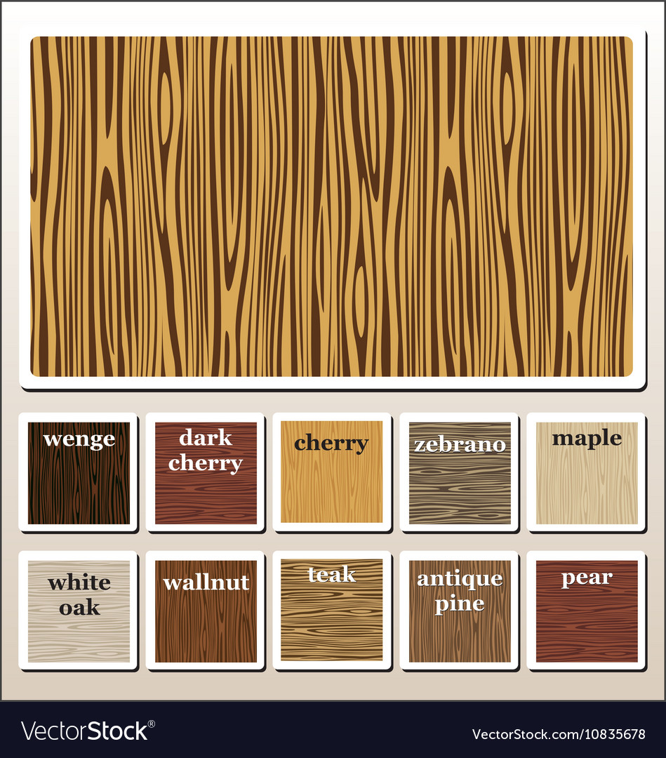 Seamless Wooden Texture Royalty Free Vector Image
