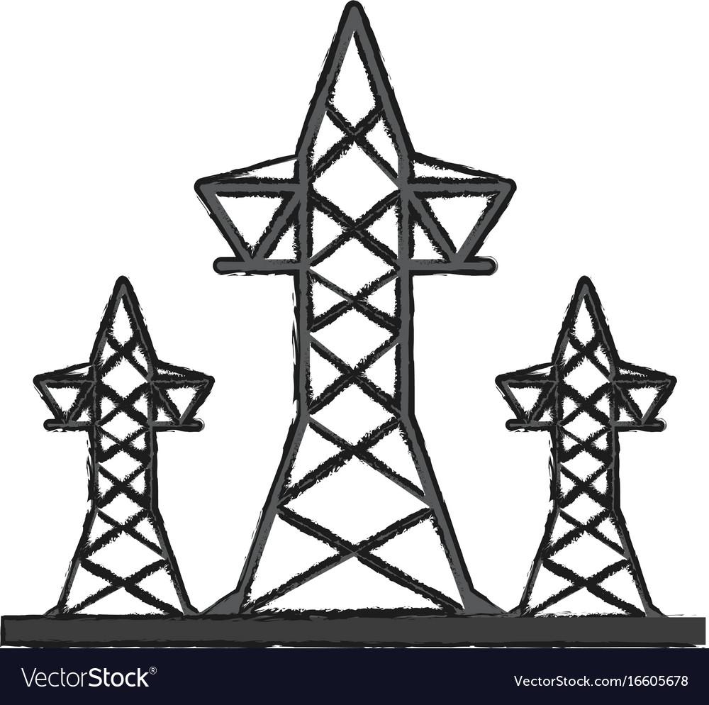 Transmission towers icon image