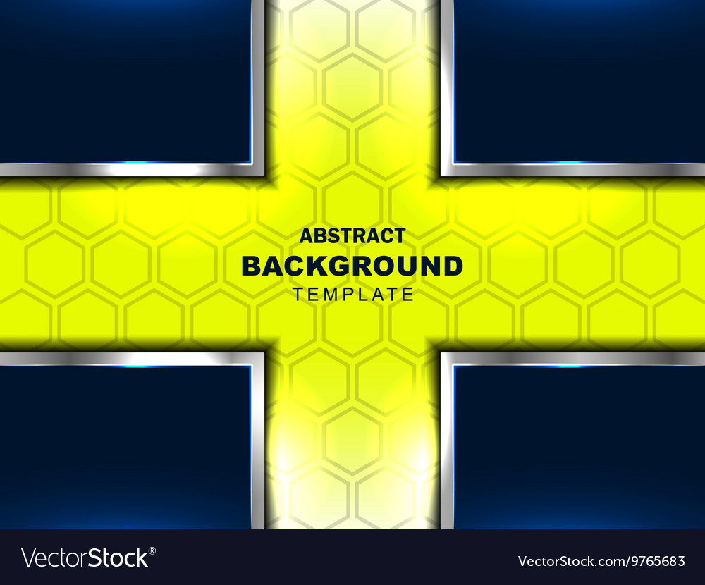 Cross abstract green background