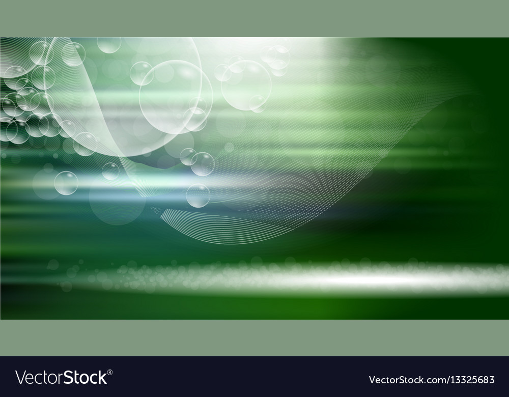 Digital green abstract empty background