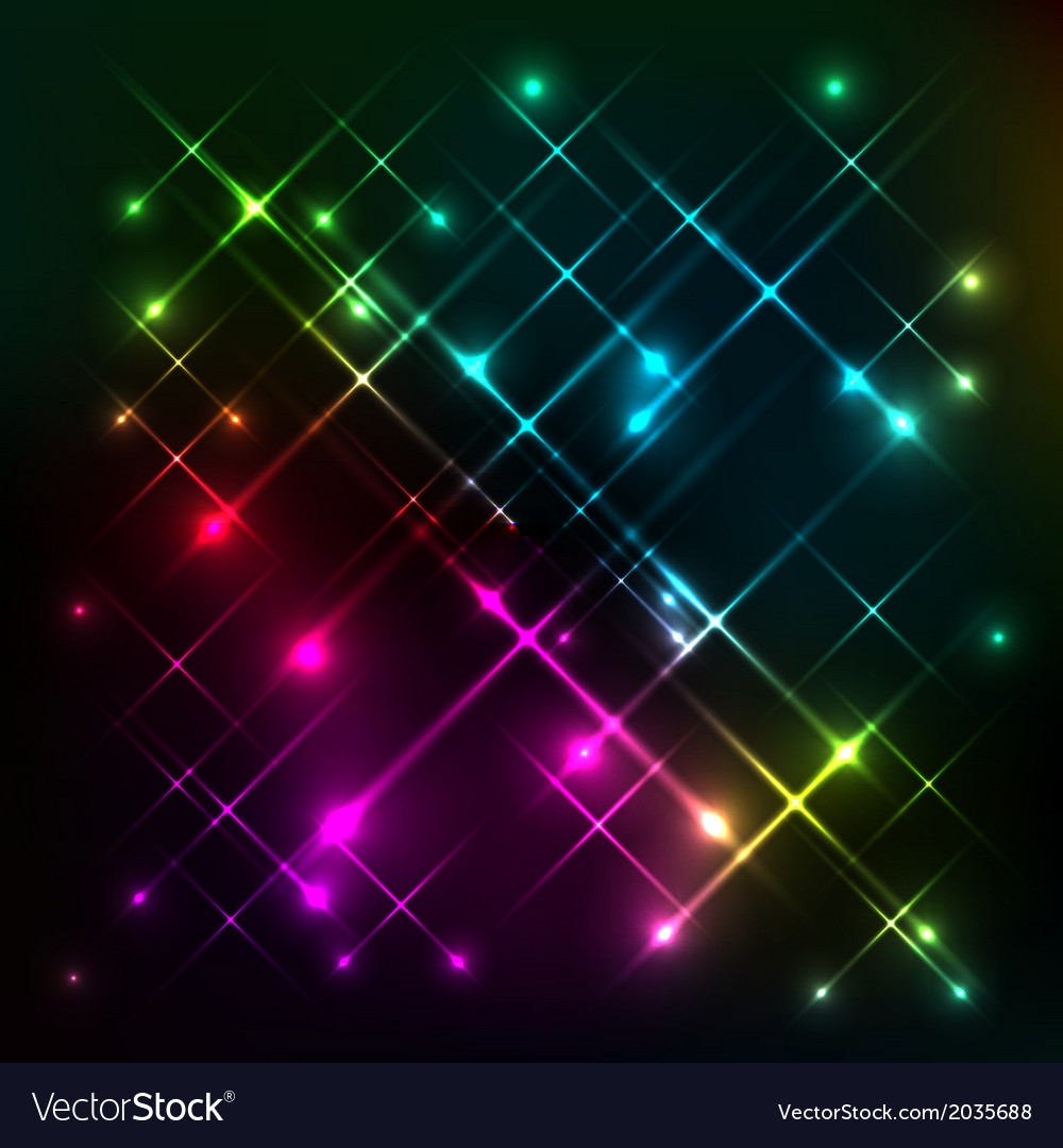 Abstract colorful glow background