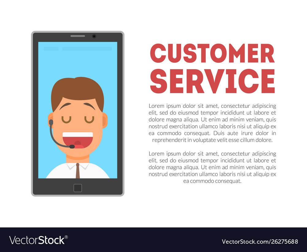 Customer service banner call center technical