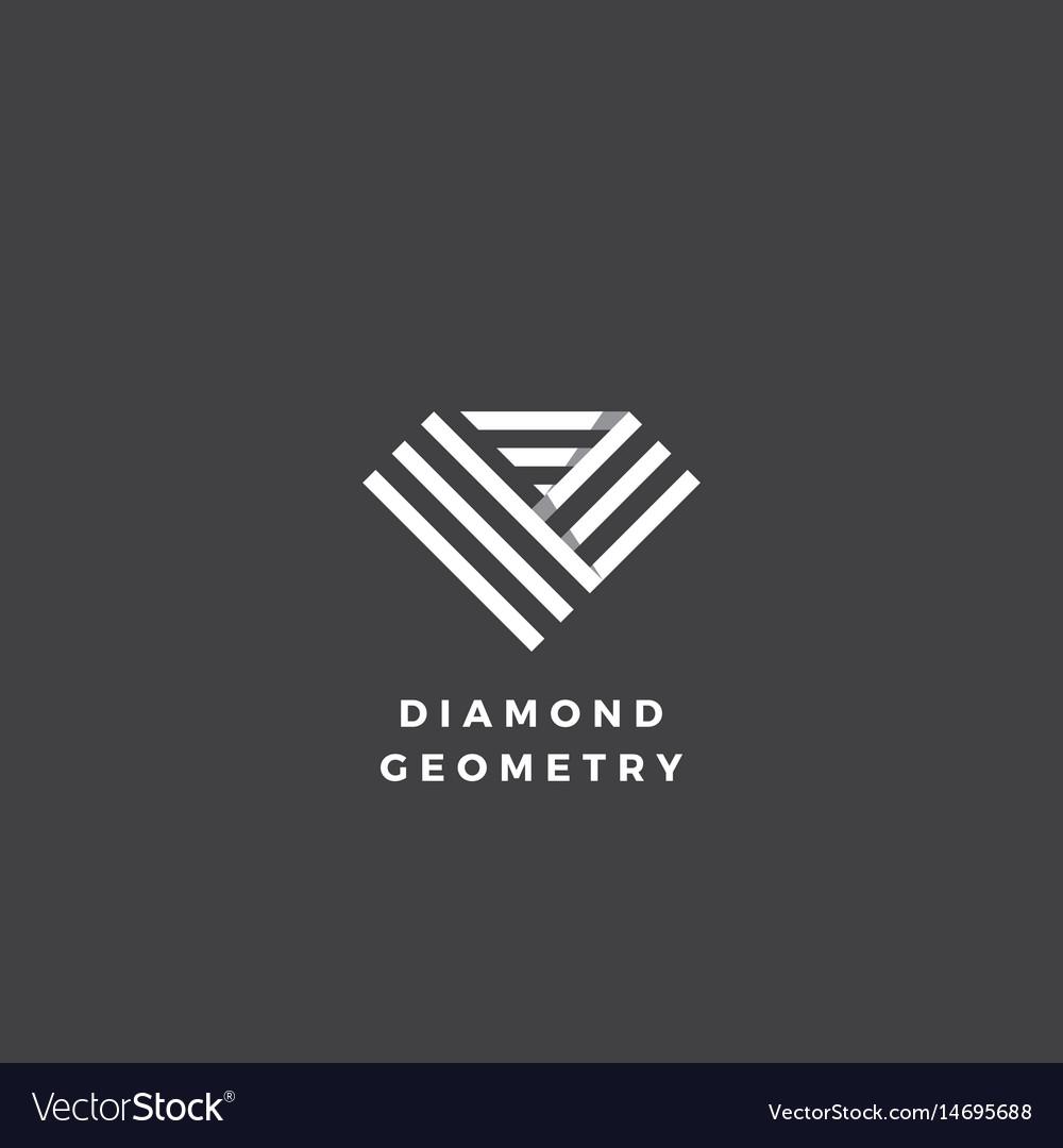Diamond geometry abstract minimal sign