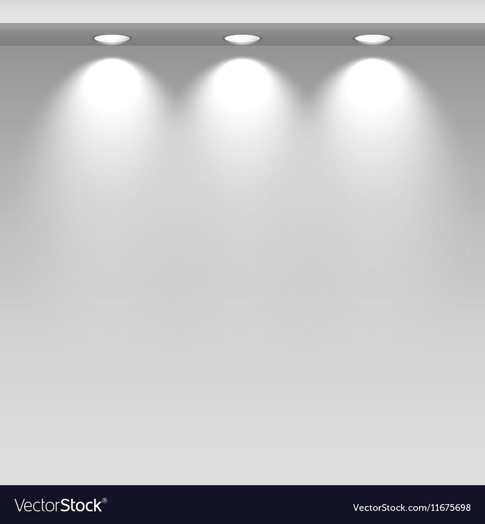 Spot lights showcas