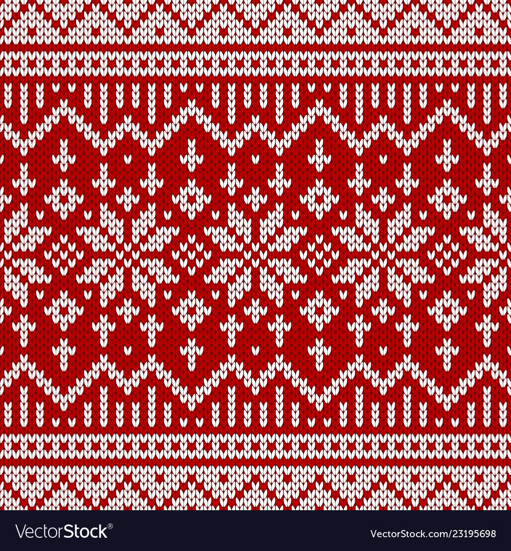 d64dceb0cb4f7f Sweater fairisle design royalty free vector image jpg 1000x1080 Red fair  isle pattern