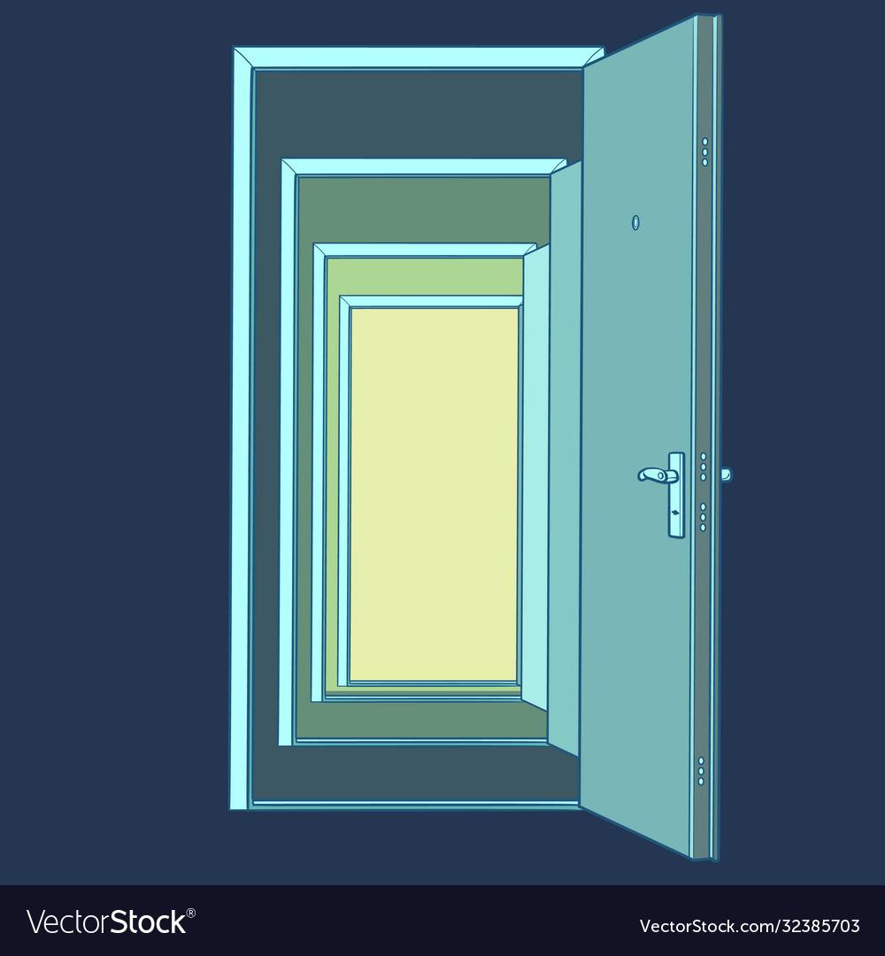 Many open doors template