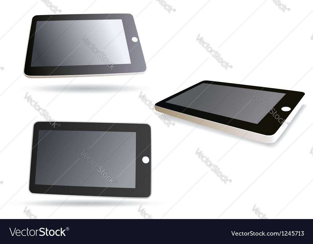 Isolated tablet computer - set
