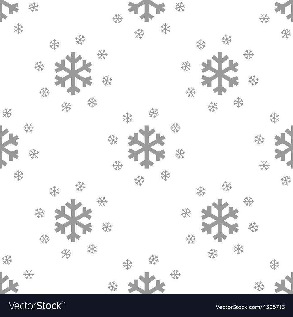 New Snow seamless pattern
