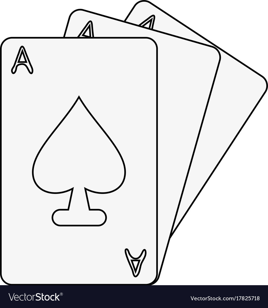 Ace of spades card icon image