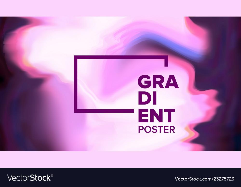 Gradient fluid background modern sreen