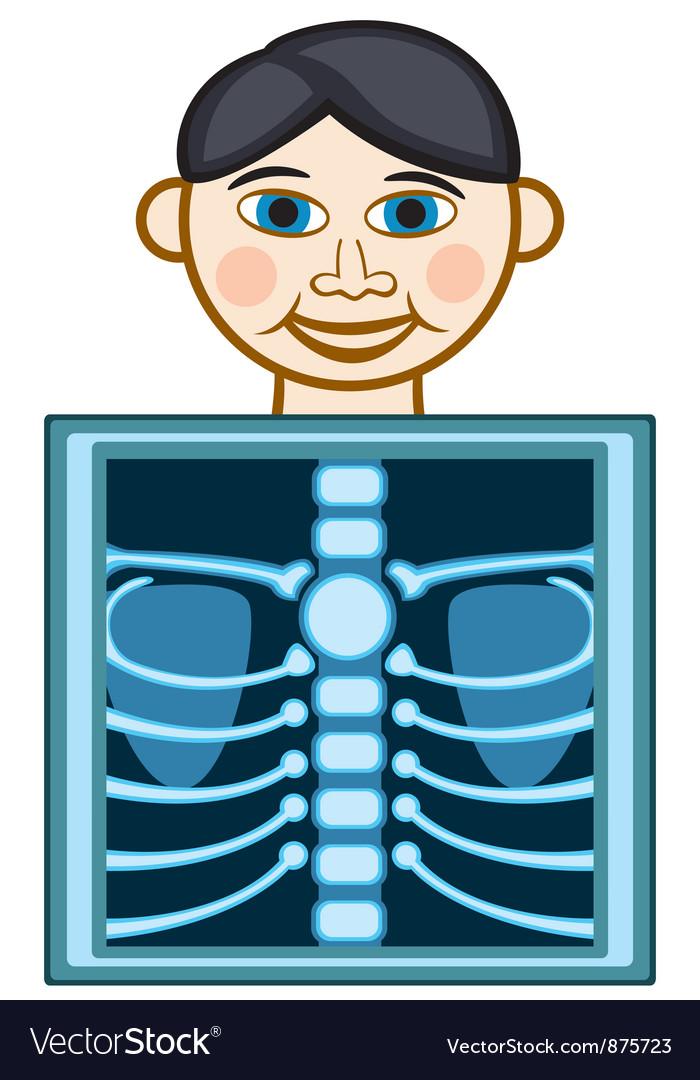 X ray vector image