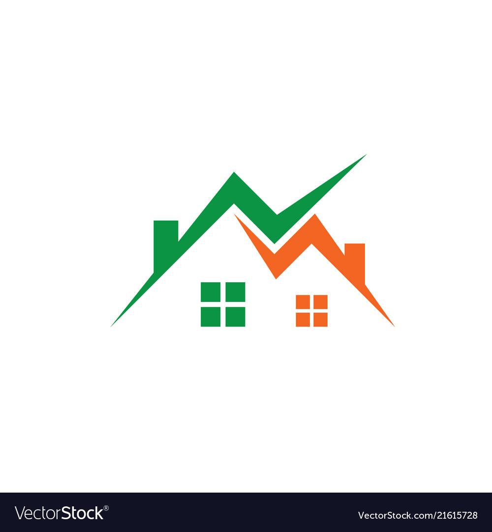 Home business contruction logo