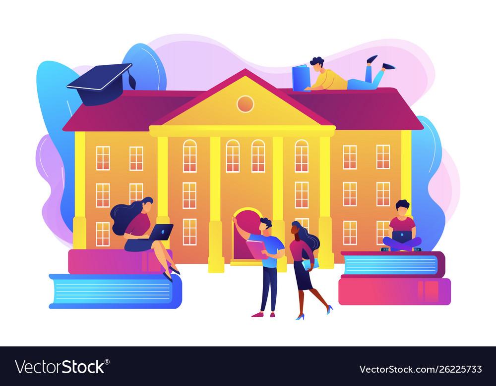 College campus concept