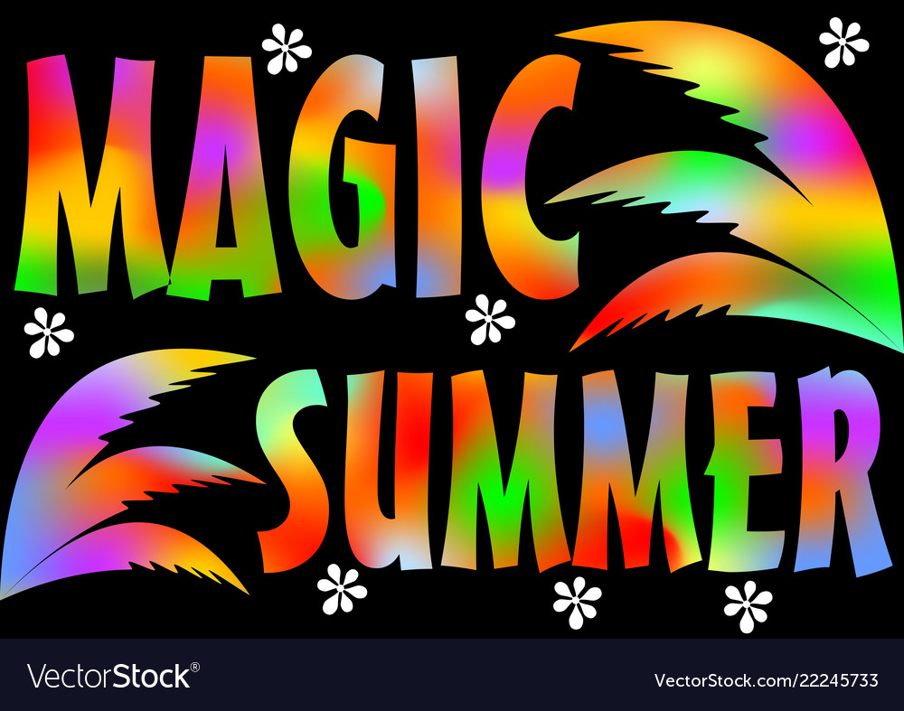 Magic summer beach party magic summer vacation