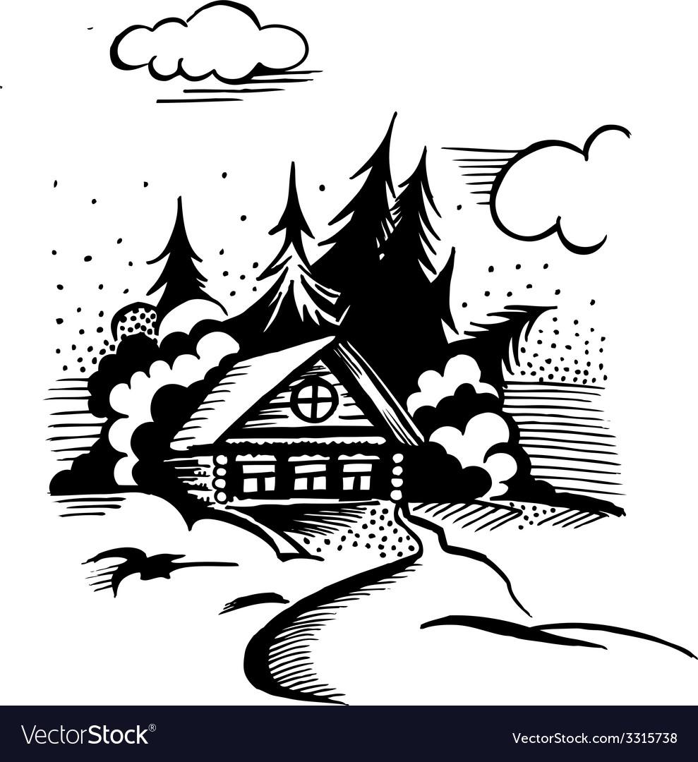 Cabin Graphic