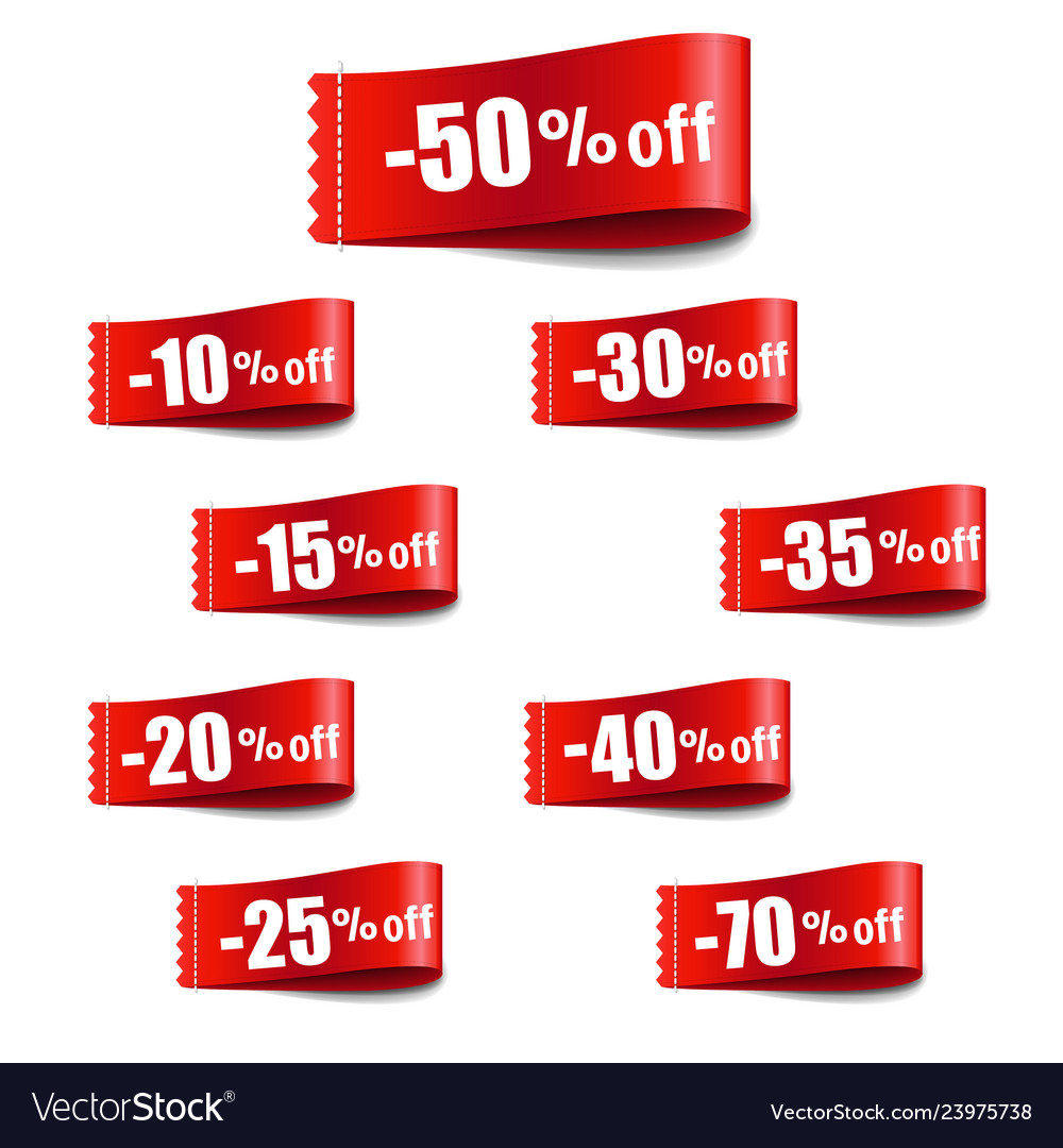 Discount tag sale