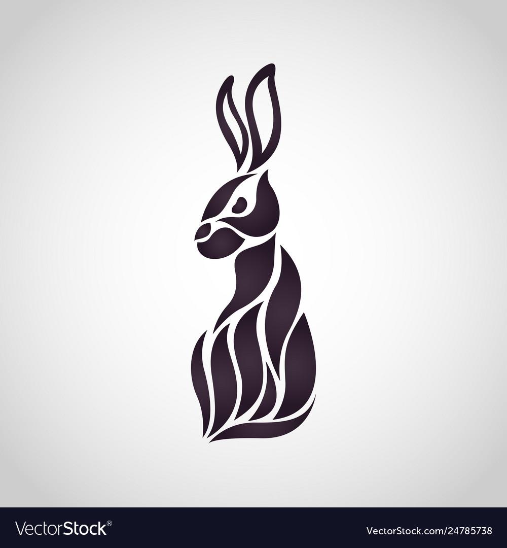 Rabbit logo icon design