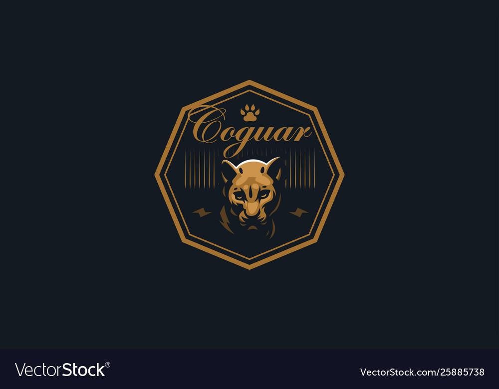 The image a coguar or panter