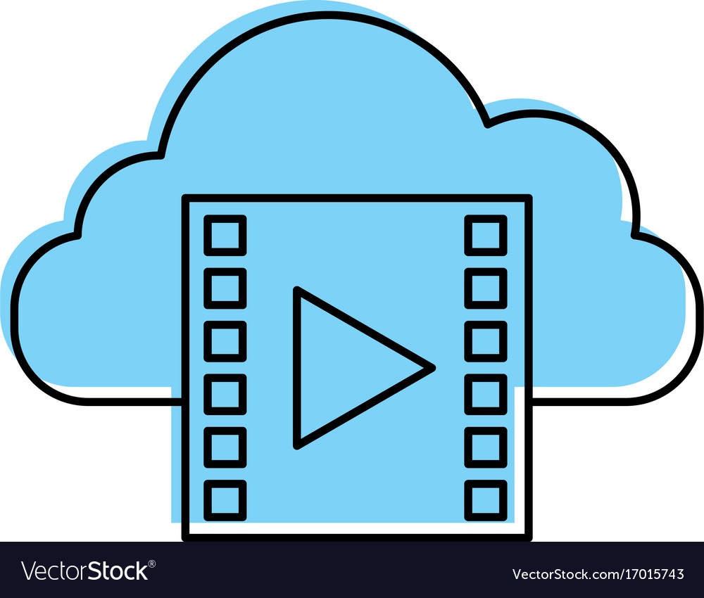 Cloud computing with tape media player isolated