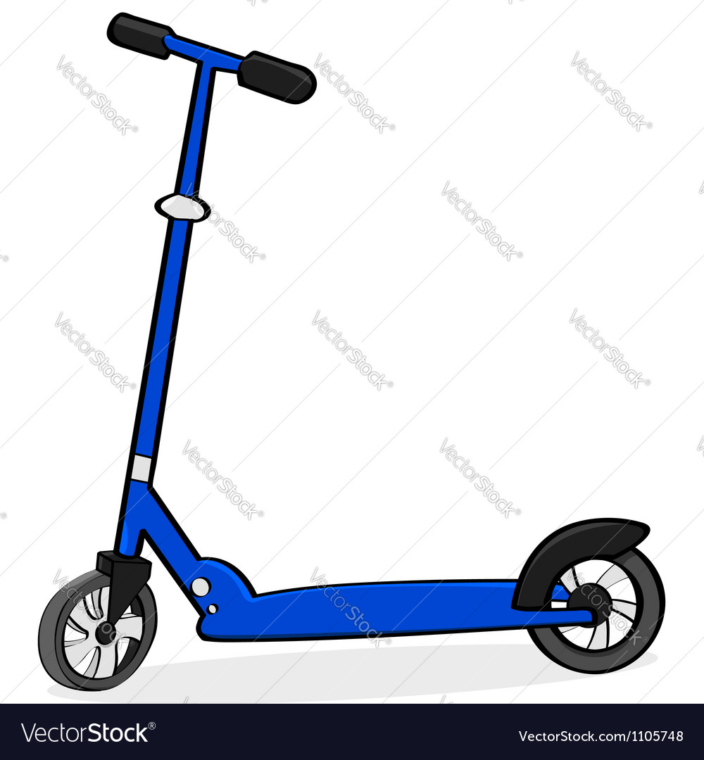 cartoon scooter royalty free vector image vectorstock purchase clip art online purchase clip art for commercial use