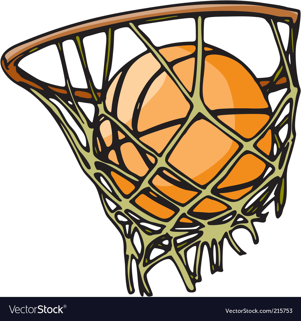 Basketball Royalty Free Vector Image Vectorstock