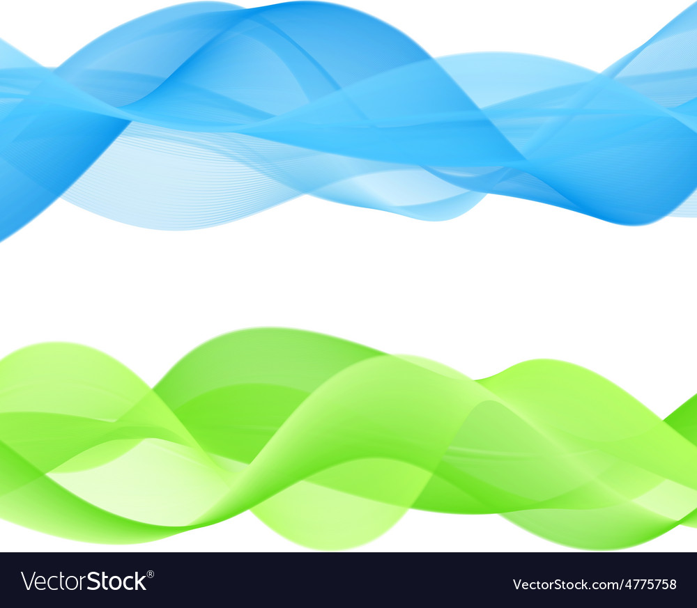 Abstract bright color wave