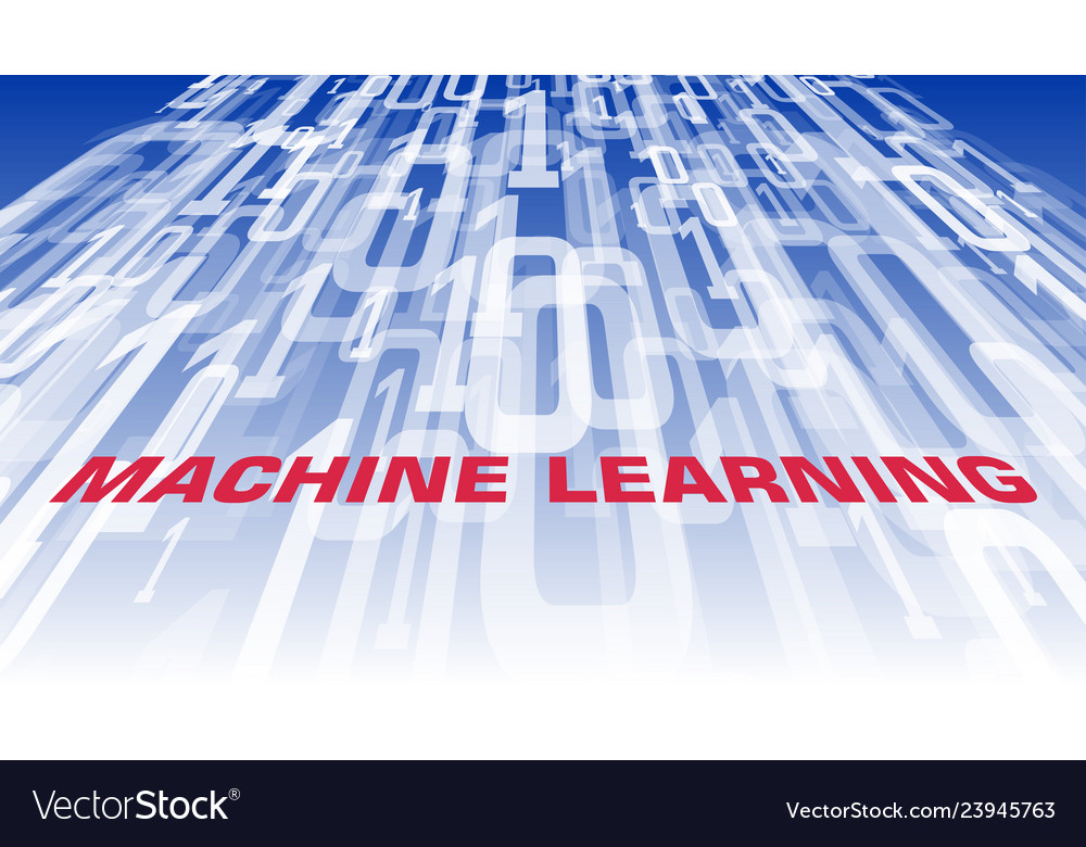 Machine Learning Algorithm Idea Computer Software Vector Image
