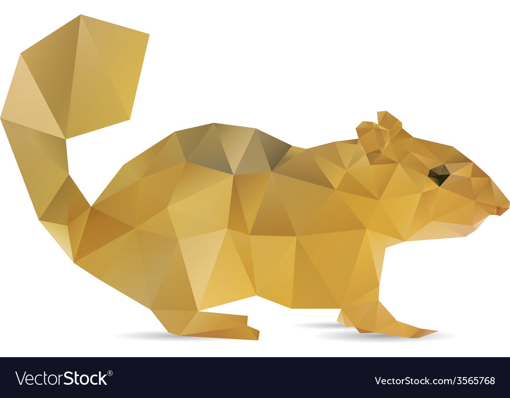 Abstract squirrel
