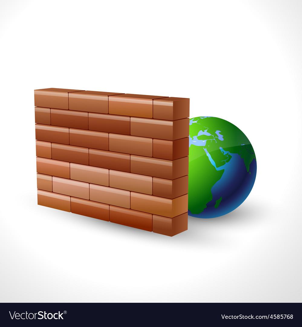 Firewall icon design