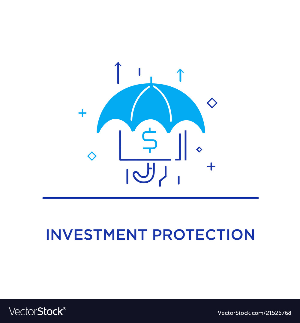 Umbrella Harbors Accumulated Money Growth Charts Vector Image