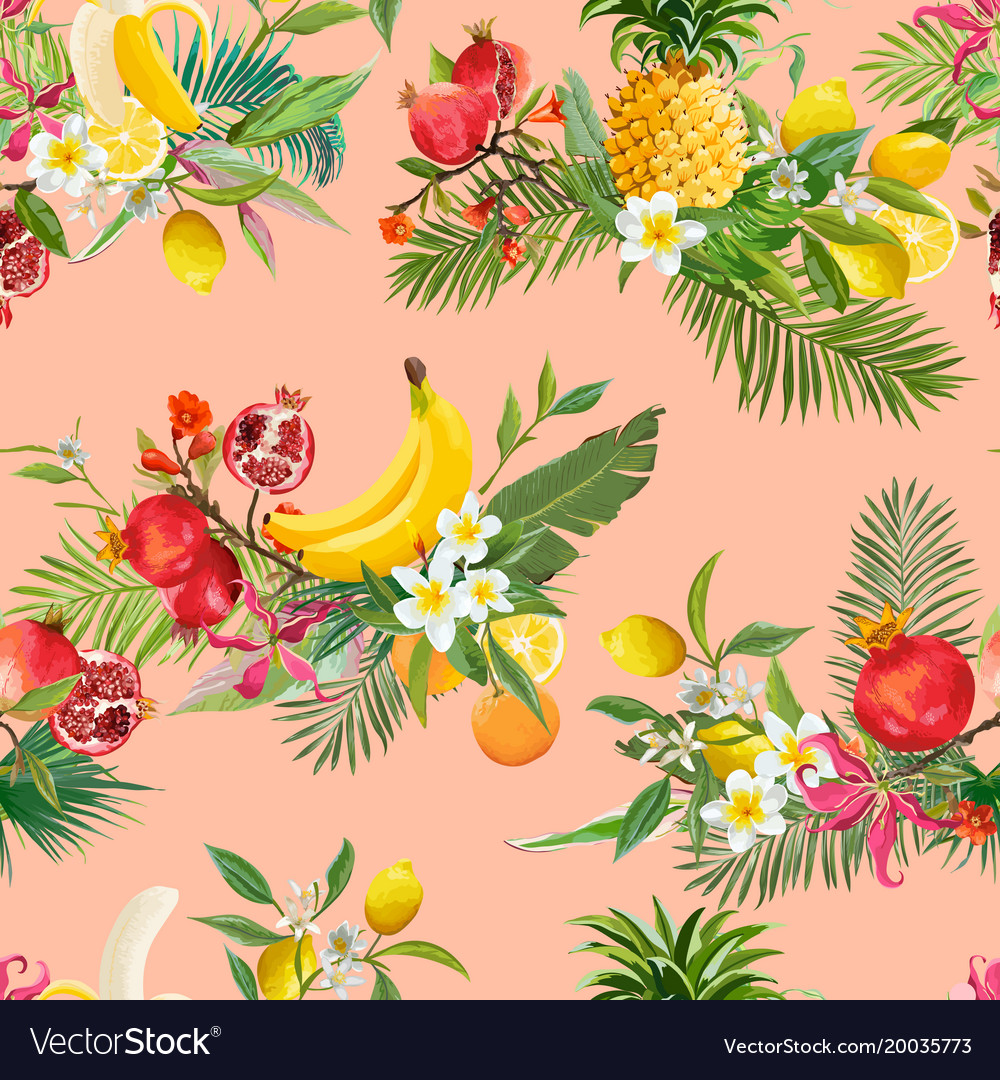 EXOTIC FRUITS THE DESIGN ARCHIVES FABRIC
