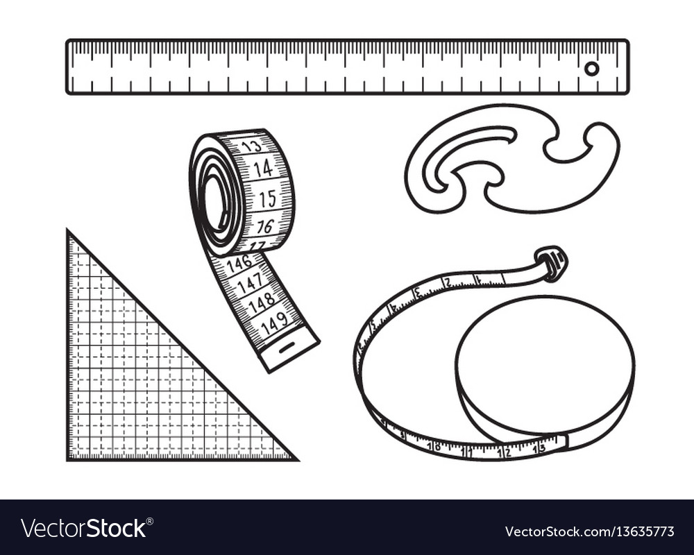 Sewing measure tools
