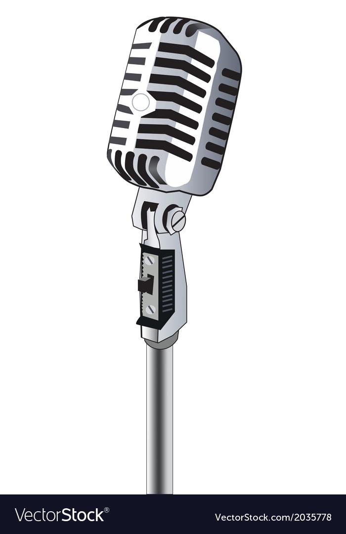 Microphone Vector Art Download Music Vectors 2035778