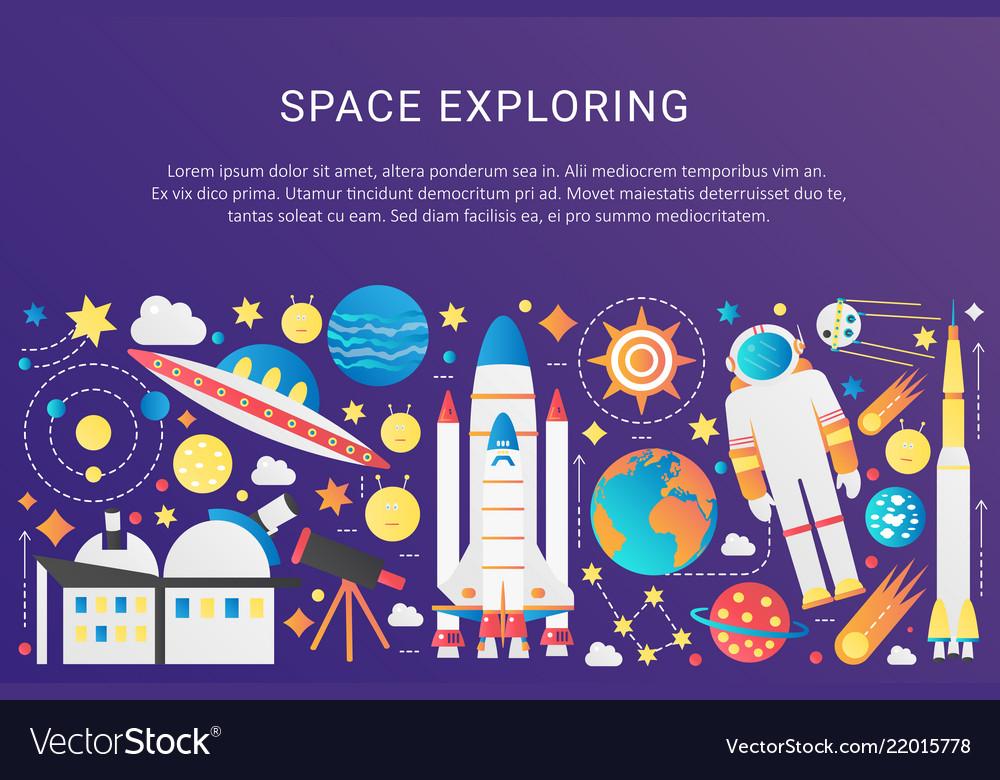 Trendy flat gradient space universe
