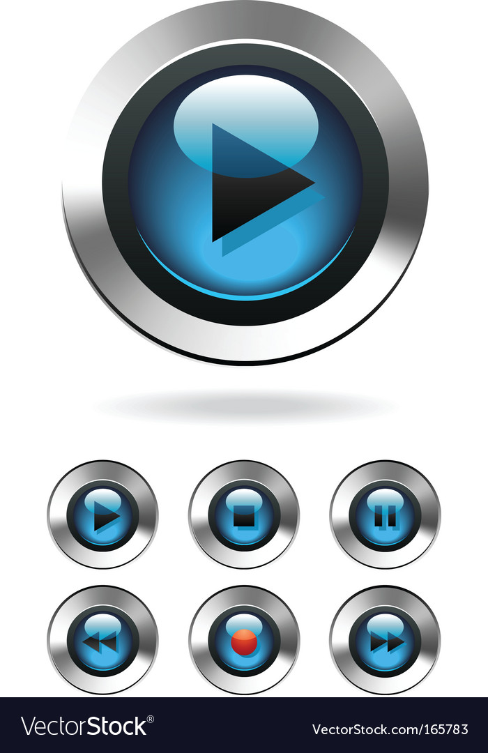 Free Music Player on Music Player Button Vector 165783 By Viktorus   Royalty Free Vector