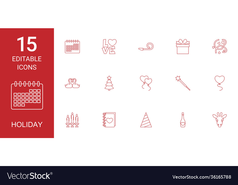 15 holiday icons