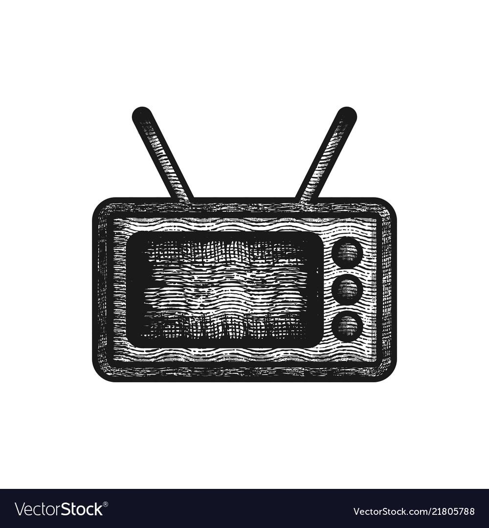 Old televisions logo design inspiration