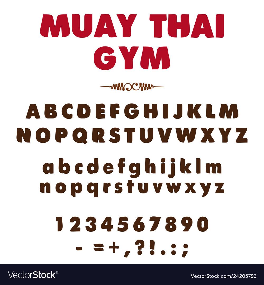 Alphabet 0001