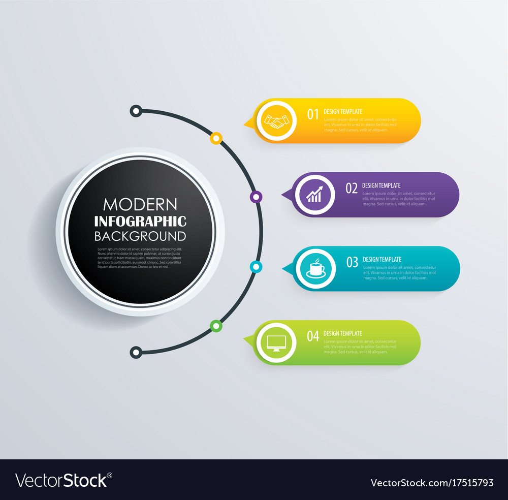 Timeline 4 infographic design and marketing