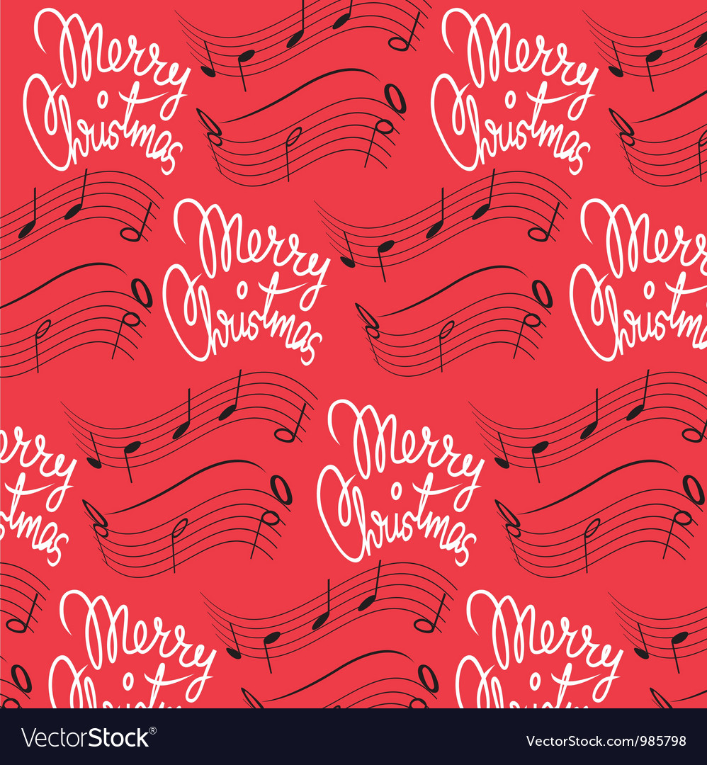 merry christmas song background vector image - Merry Christmas Song