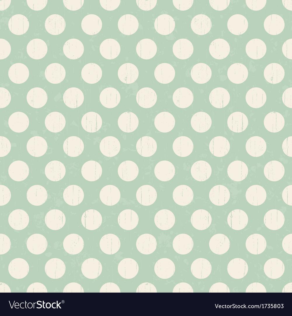 Seamless retro polka dots background