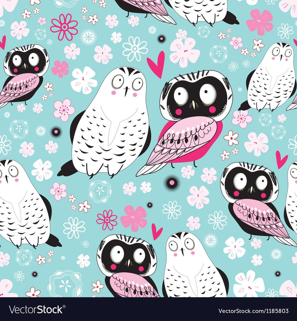 Stok vektor fabulous owlss